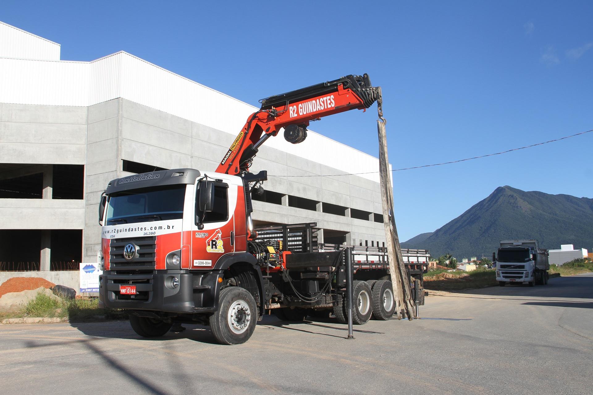 munck md 45 guindaste capacidade 10 toneladas